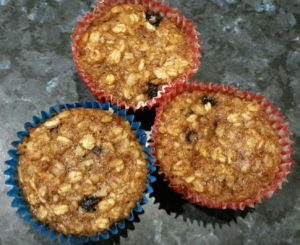 Blueberry and Flaxseed Muffins – Nutritious Comfort Food!