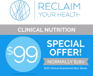 $99 Nutrition Intro Offer